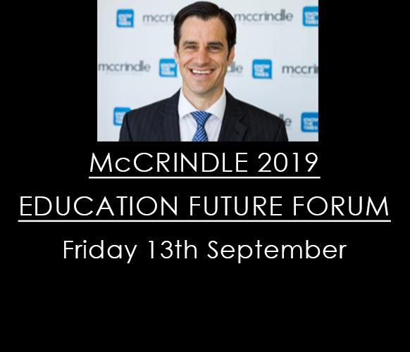 McCrindle 2019 Education Future Forum