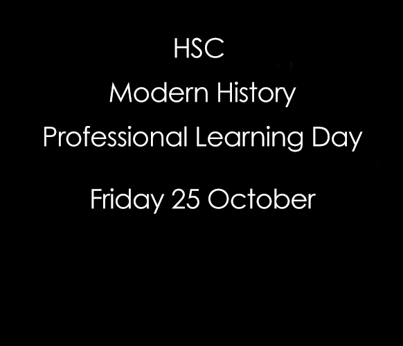 HSC Modern History Professional Learning Day