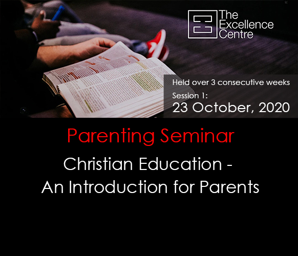 Christian Education – An Introduction for Parents