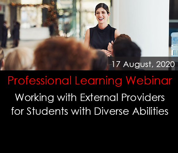 Working with External Professionals for Students with Diverse Abilities