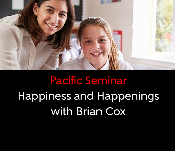 Happiness and Happenings with Brian Cox