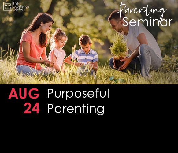 Parent Seminar – Purposeful Parenting