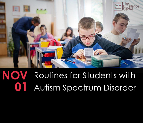 Routines for Students with Autism Spectrum Disorder (ASD)