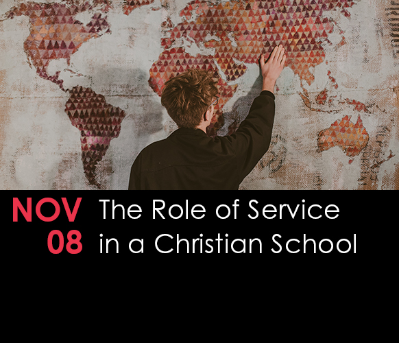 Pacific Seminar – The Role of Service in a Christian School